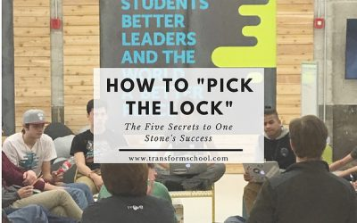 """How to Pick the Lock:"" The Five Secrets to create student- owned learning"