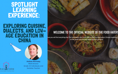 PBL Case Study #9: Exploring cuisine, dialects and low-age education in China
