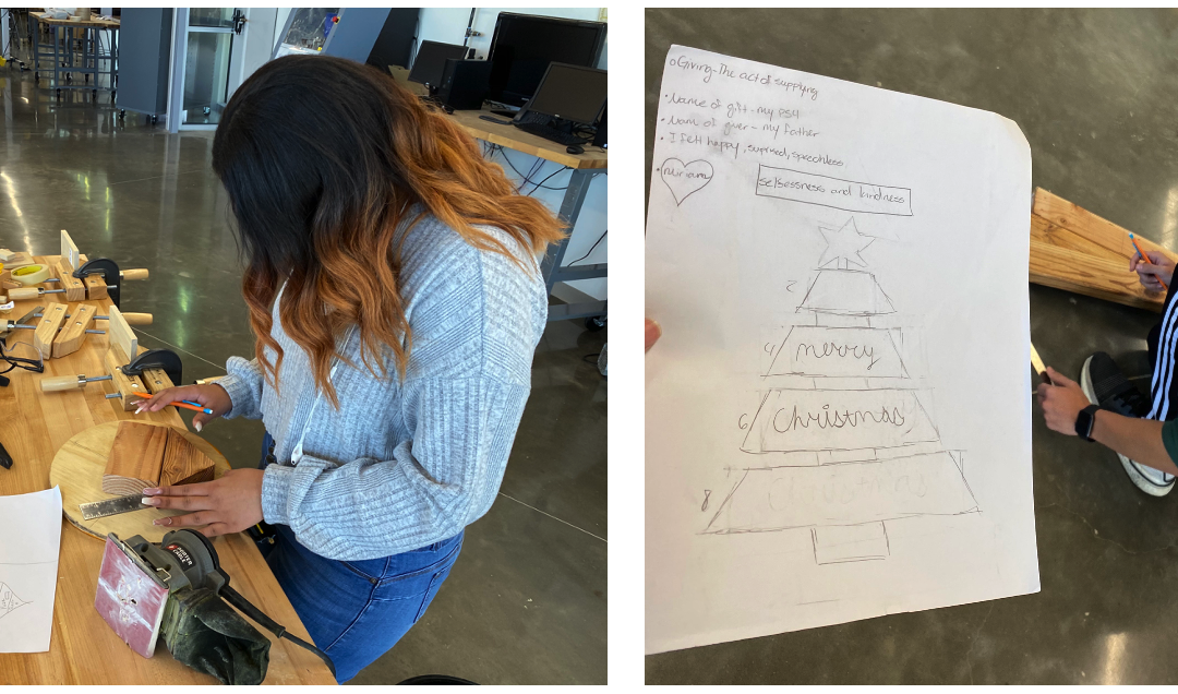 PBL Case Study #7: Scrapping the mandated online curriculum to build holiday gifts from wood scraps