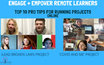Engage + Empower 100% of remote learners: Top 10 tips for running projects in the online space
